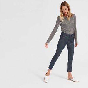 Mid-rise Skinny Ankle Jean, Indigo // Everlane